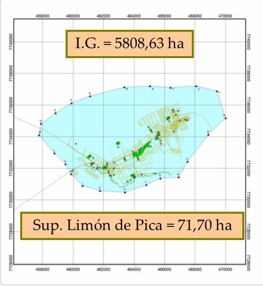 Area indicación geografica Limón de Pica