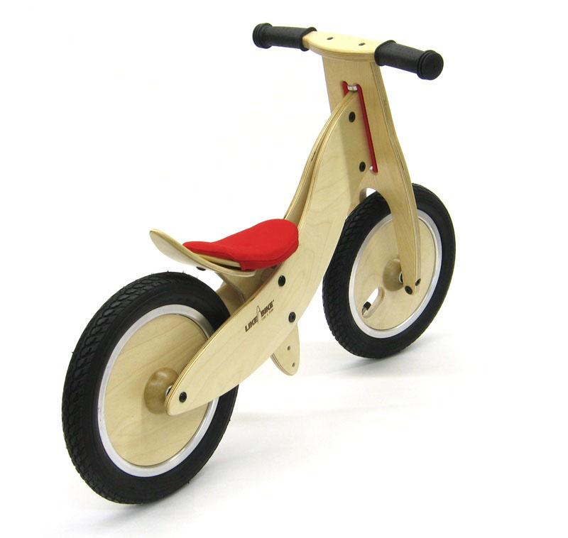 Dejuguetes: Bicicleta Likeabike Rojo