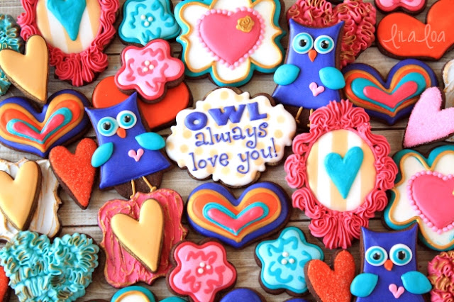 How to Make Decorated Owl Cookies