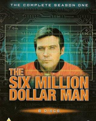 O Homem de Seis Milhões de Dólares (The Six Million Dollar Man) - 1ª Temporada Completa - DVD-Rip AVI Dublado