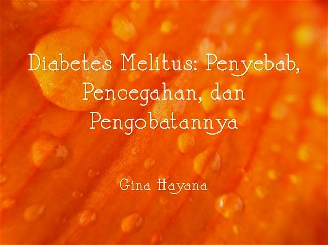 Mengenali gejala-gejala diabetes melitus atau penyakit kencing manis