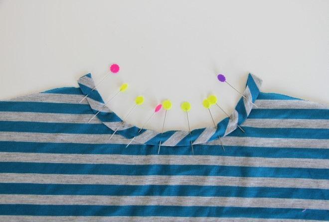 خياطة قميص باكمام الفراشة