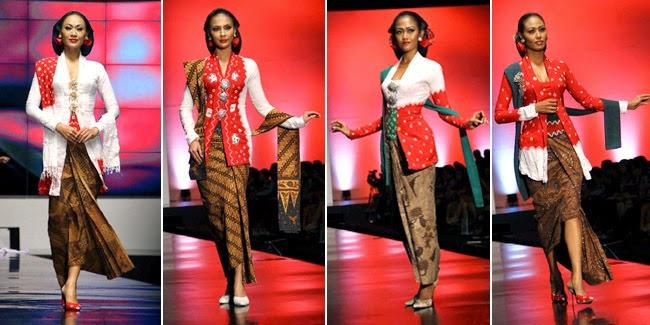 Contoh Kebaya Kartini Modern 2014