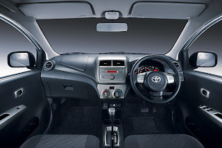 Interior Toyota Agya