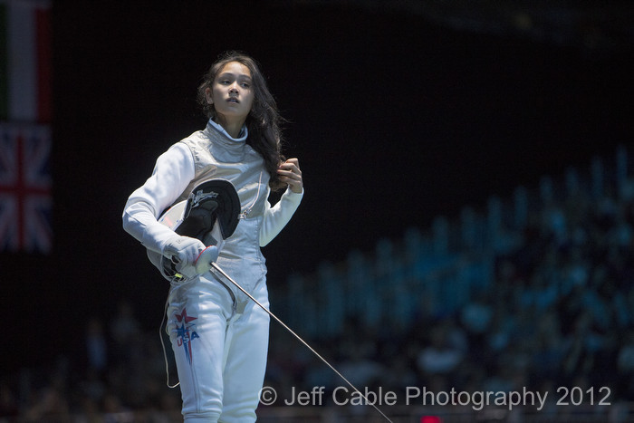 Jeff cable s summer olympics women fencing