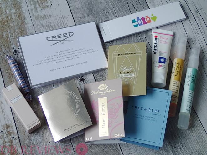 Jet Set Perfume Discovery Box.