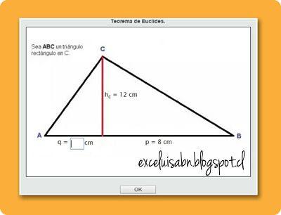 Teorema de Euclides.