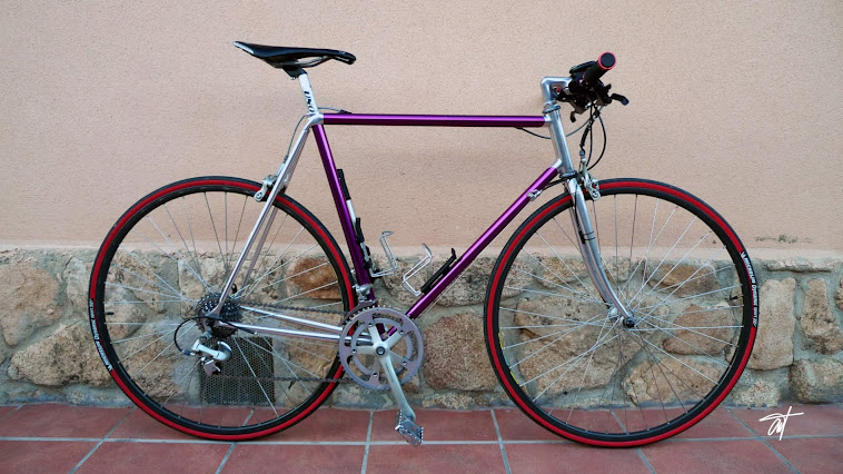 Vitus 992 transformed in city bike