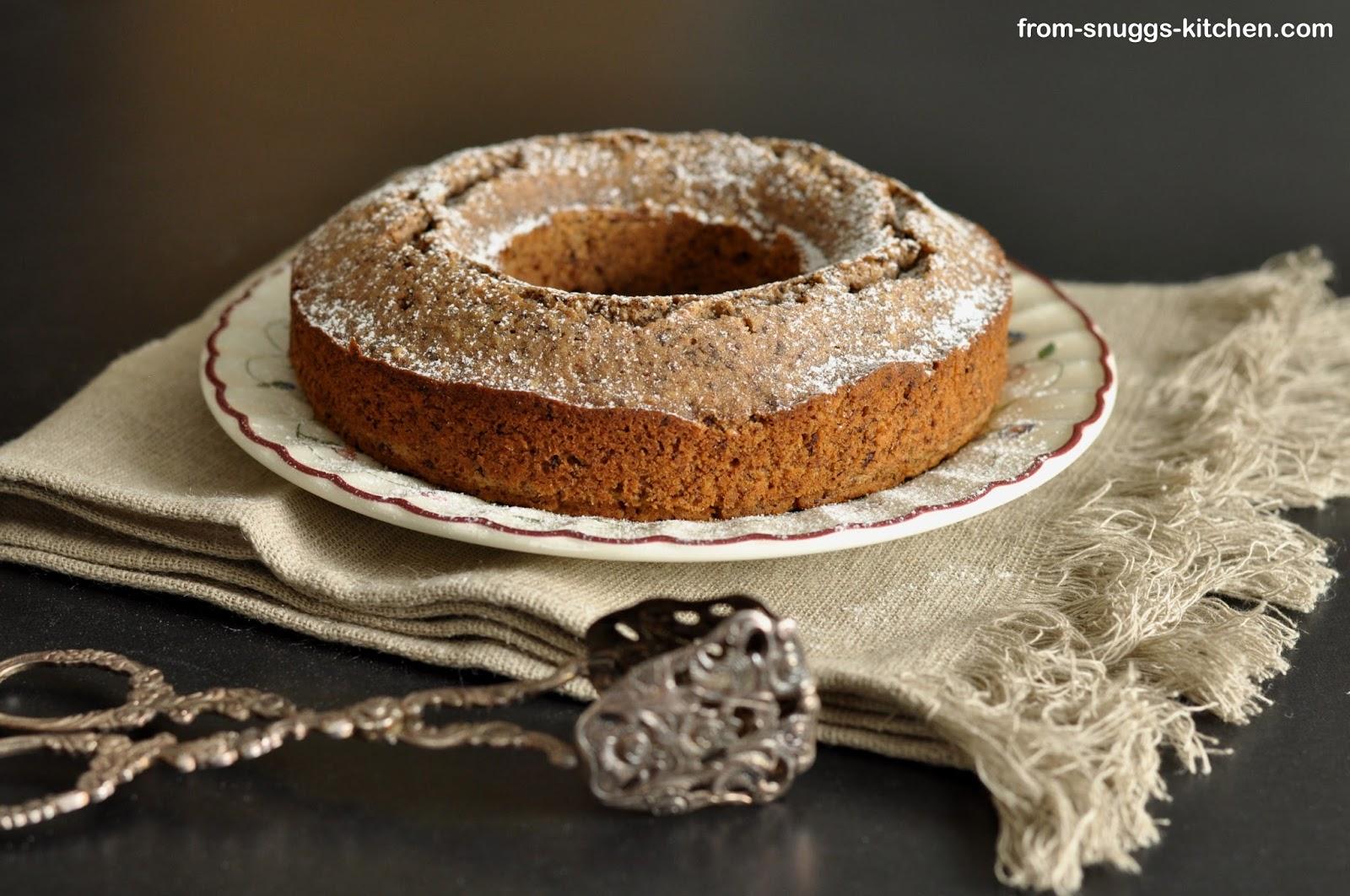 Kaffee-Nuss-Kuchen