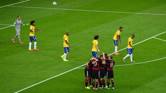 Brazil kalah jaringan terbanyak FIFA 2014
