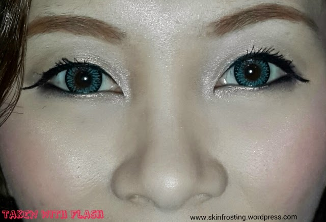 Barbie Luna 4 Tones Blue colored contacts