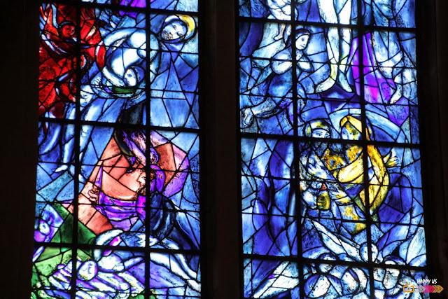 Cathédrale de Reims - Vitraux Chagall