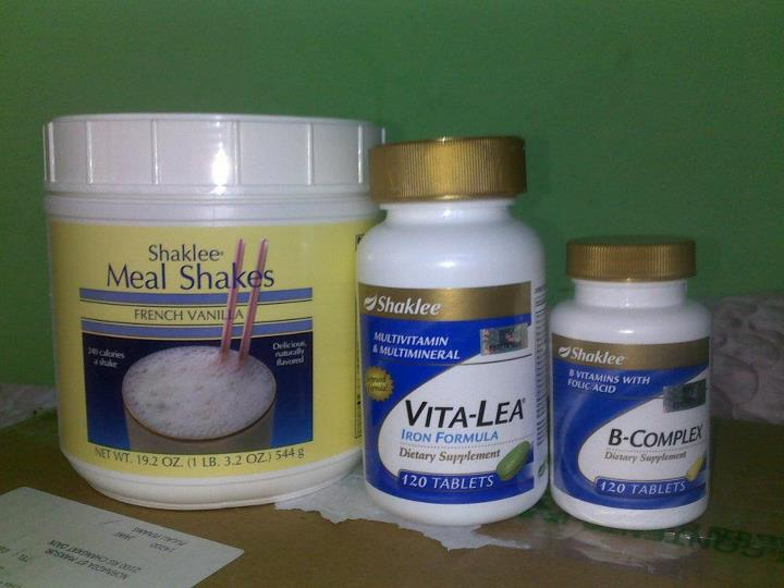 Set Tambah Berat Badan Shaklee dengan Shaina Shop