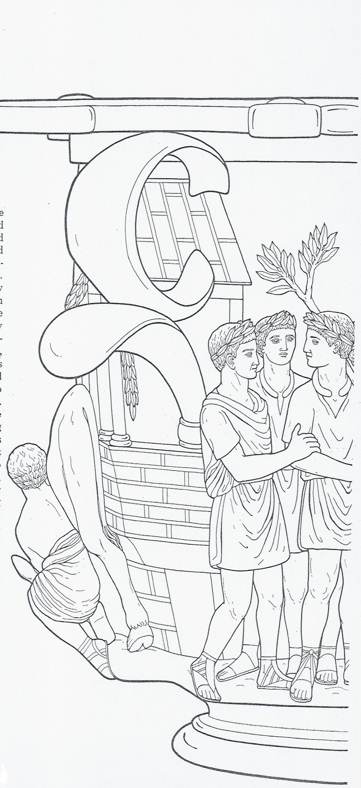 Disegni da colorare gli antichi
