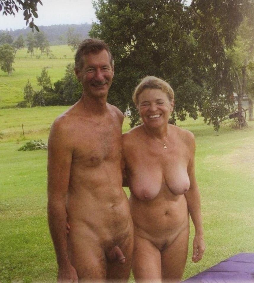 nudiarist: naturist photo - lovely older couple - nudistworld3