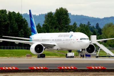 Garuda Indonesia, Boeing 777-300ER. ZonaAero