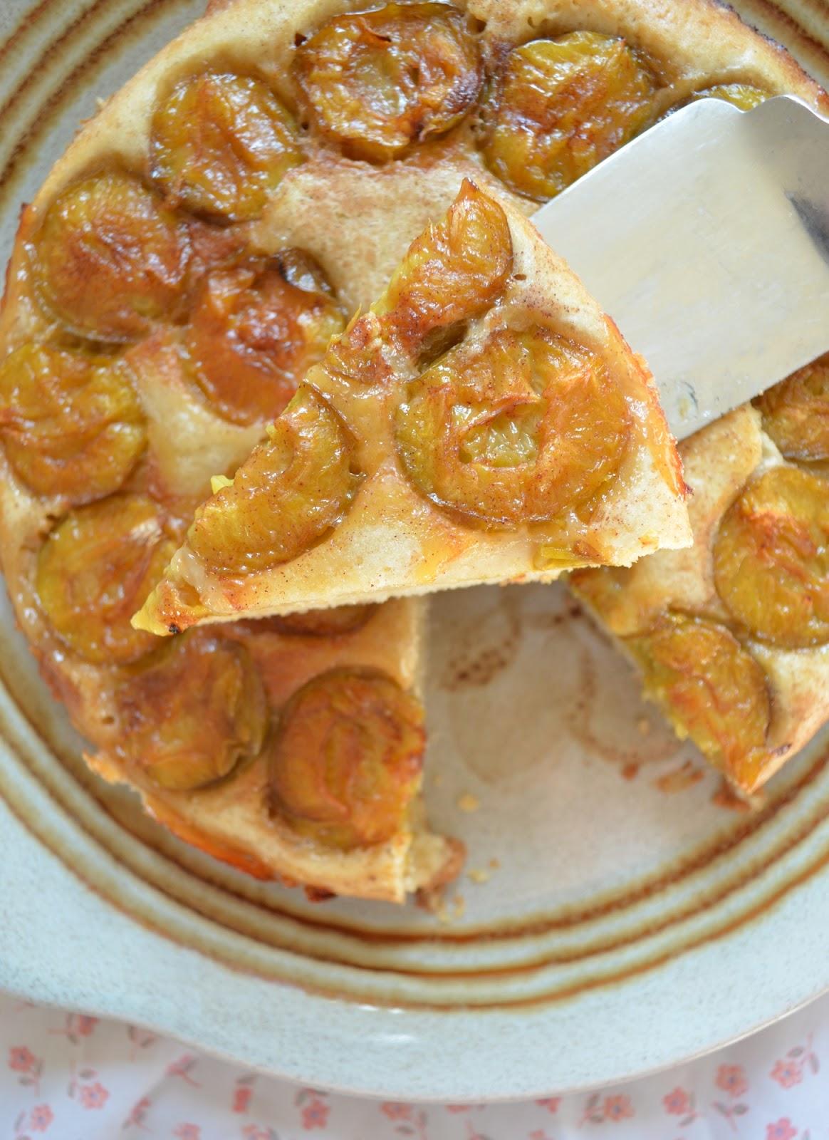 Galette aux reine claude cc cuisine - Canneles bordelais recette originale ...