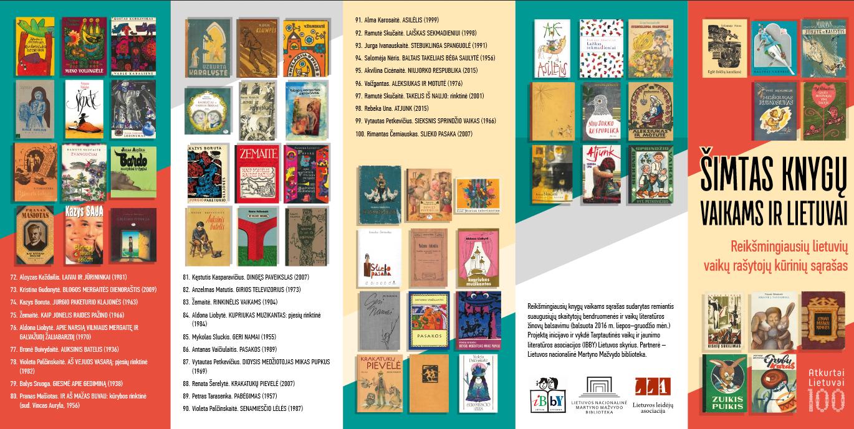 Šimtas knygų vaikams ir Lietuvai