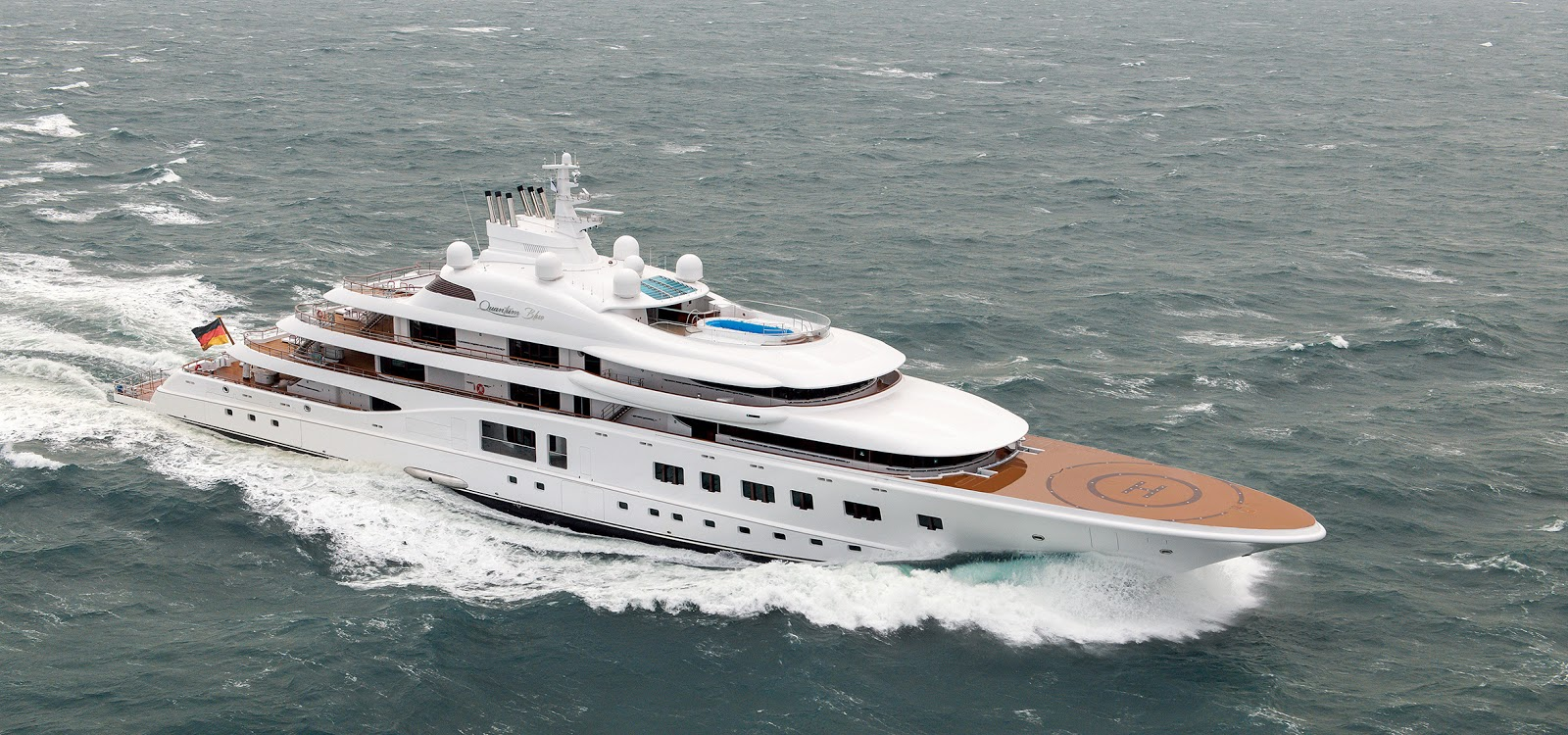 Quantum Blue Superyacht Photos Marine Vessel Traffic