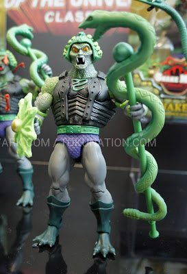 Mattel Matty Collector 2013 Toy Fair Display - Masters of the Universe MOTU Classics Snake Face figure