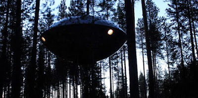 UFO Inspired Tree House