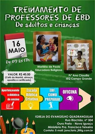 16 de maio em Nova Iguaçú/RJ.