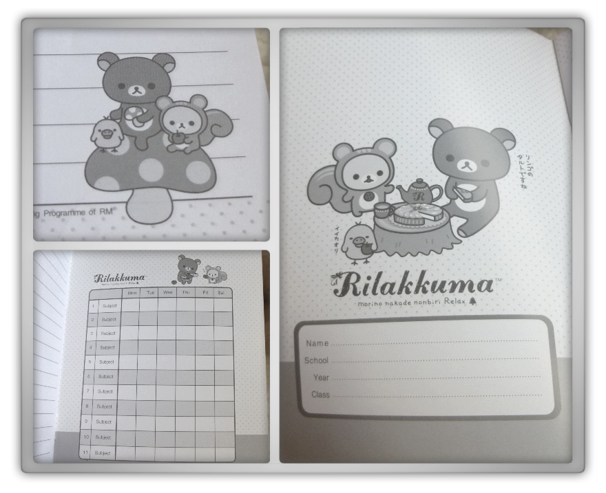 Blippo haul review shoplog rilakkuma korilakkuma notebook basket spring preview kawaii