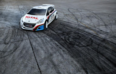 peugeot 208 t16 photo 1 burnout