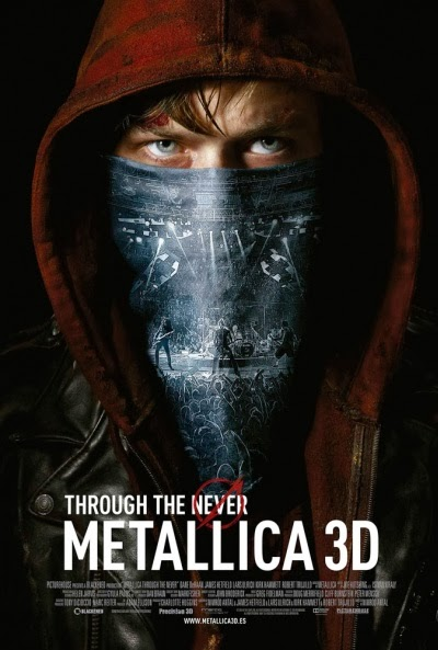 Pelicula Metallica 3D: Through the Never (2013) Online
