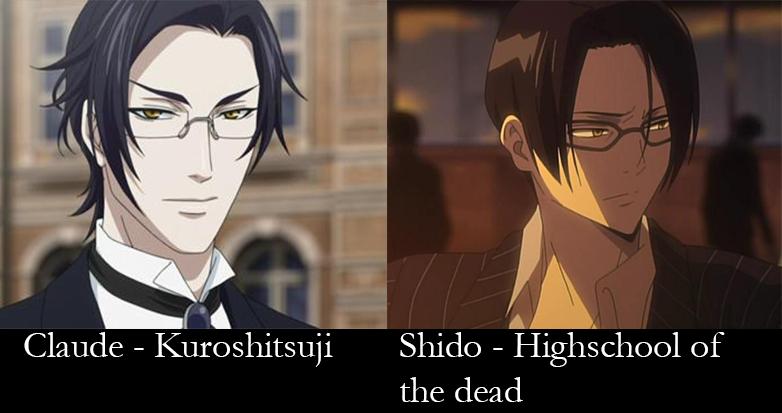 similar characters - Claude adn Shido