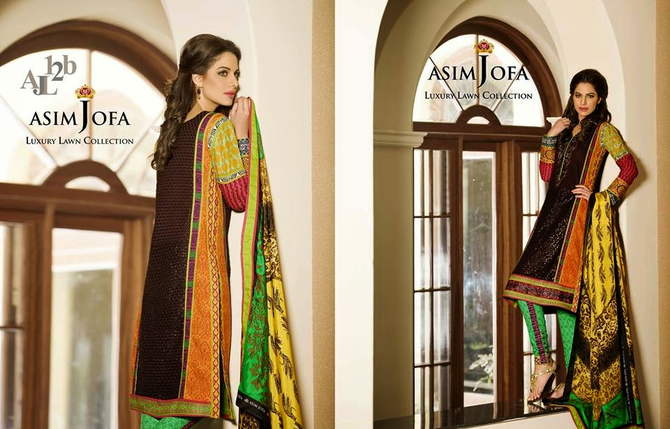 Asim Jofa summer dresses for women