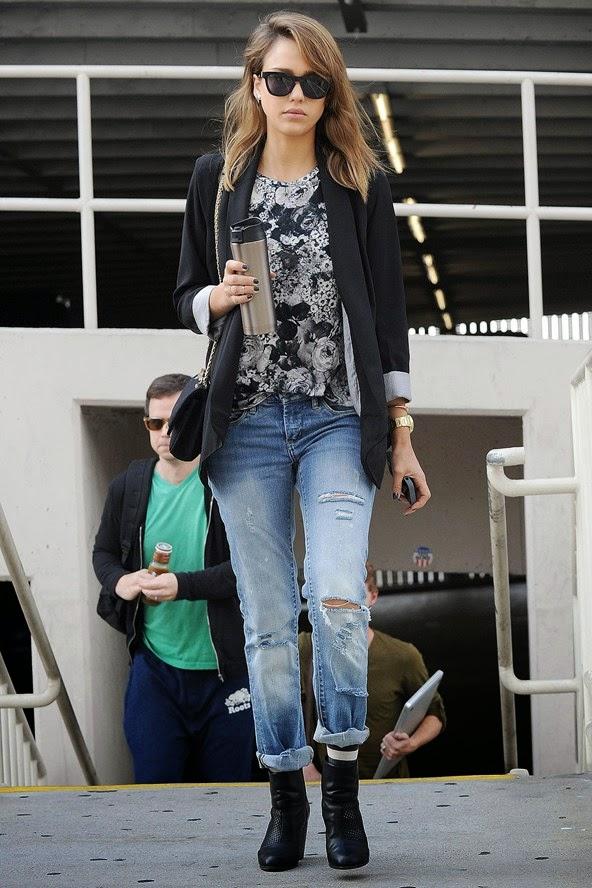 Celebrity Style: Skinny Jeans V Boyfriend Jeans