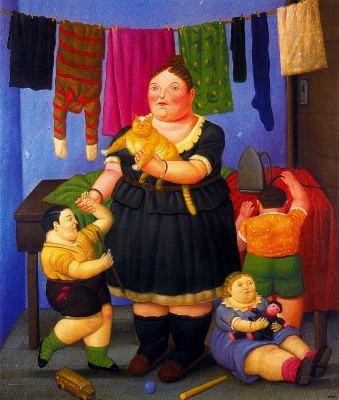 Fernando Botero pinturas