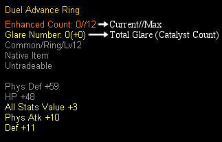 GhostX Ultimate - Duel Advance Ring