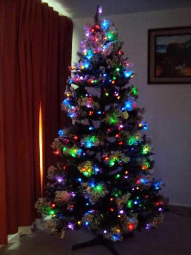Me late chocolate aprende a colocar las luces en tu - Luces arbol navidad ...