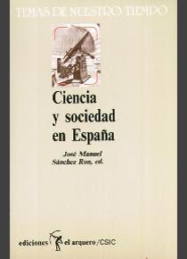 """""""Ciencia y sociedad en España"""" - José Manuel Sanchez Ron."""