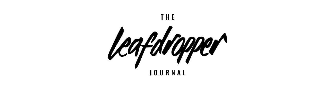 leaf dropper journal