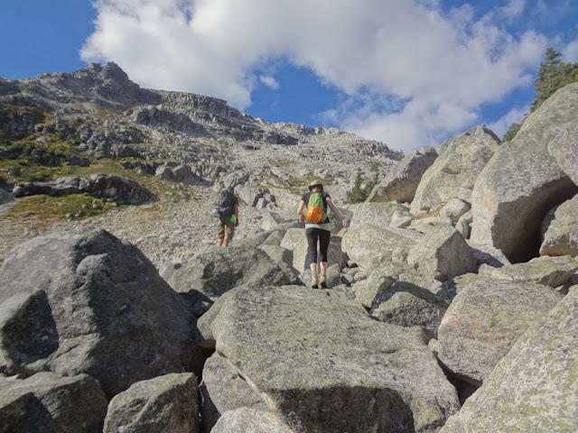 Climbing Granite, Mt. Gandalf, Tolkien Group, BC