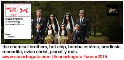 #Sónar 2015 Bogota