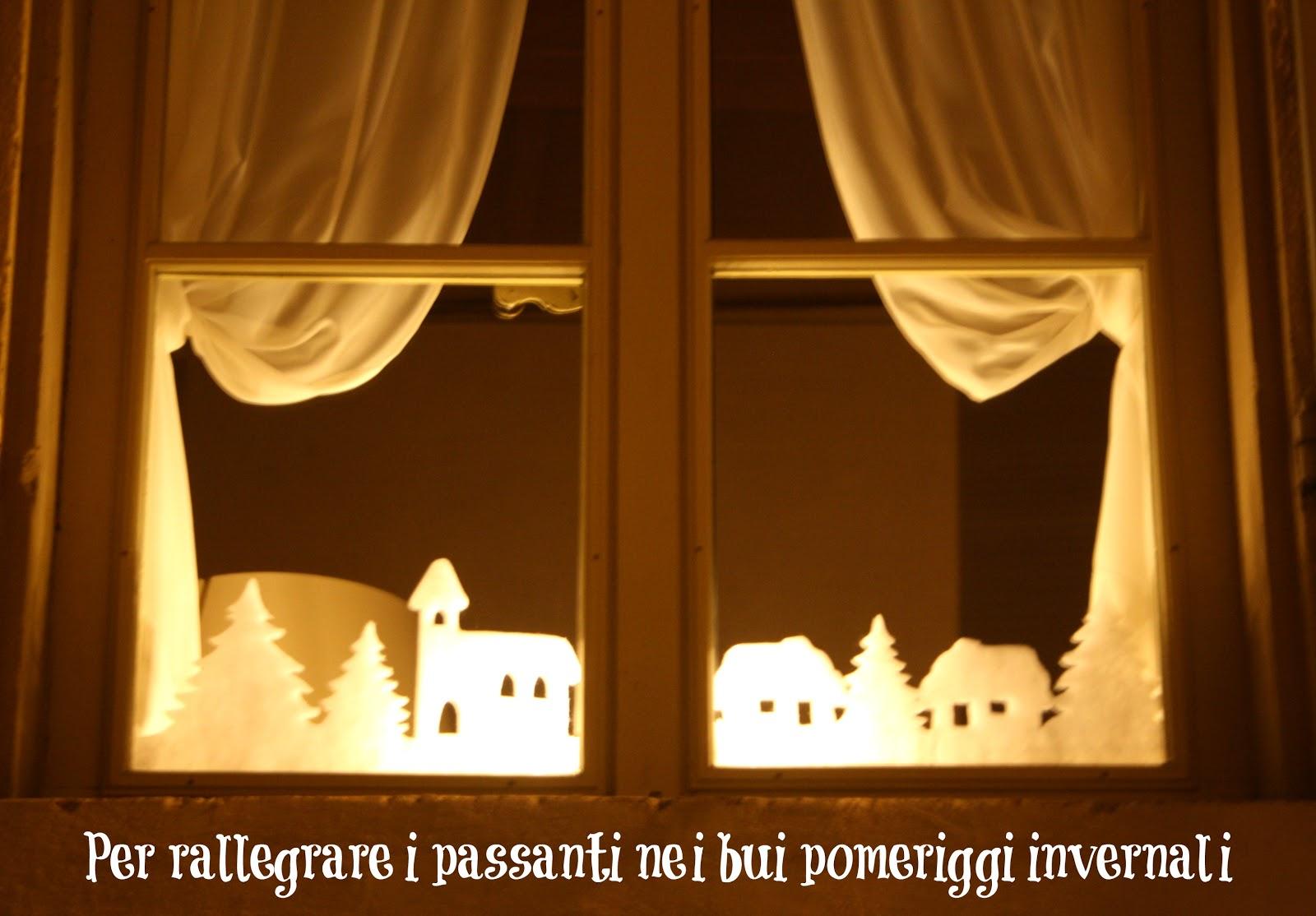 Nel nido il primo weekend di dicembre - Decorazioni natalizie finestre ...