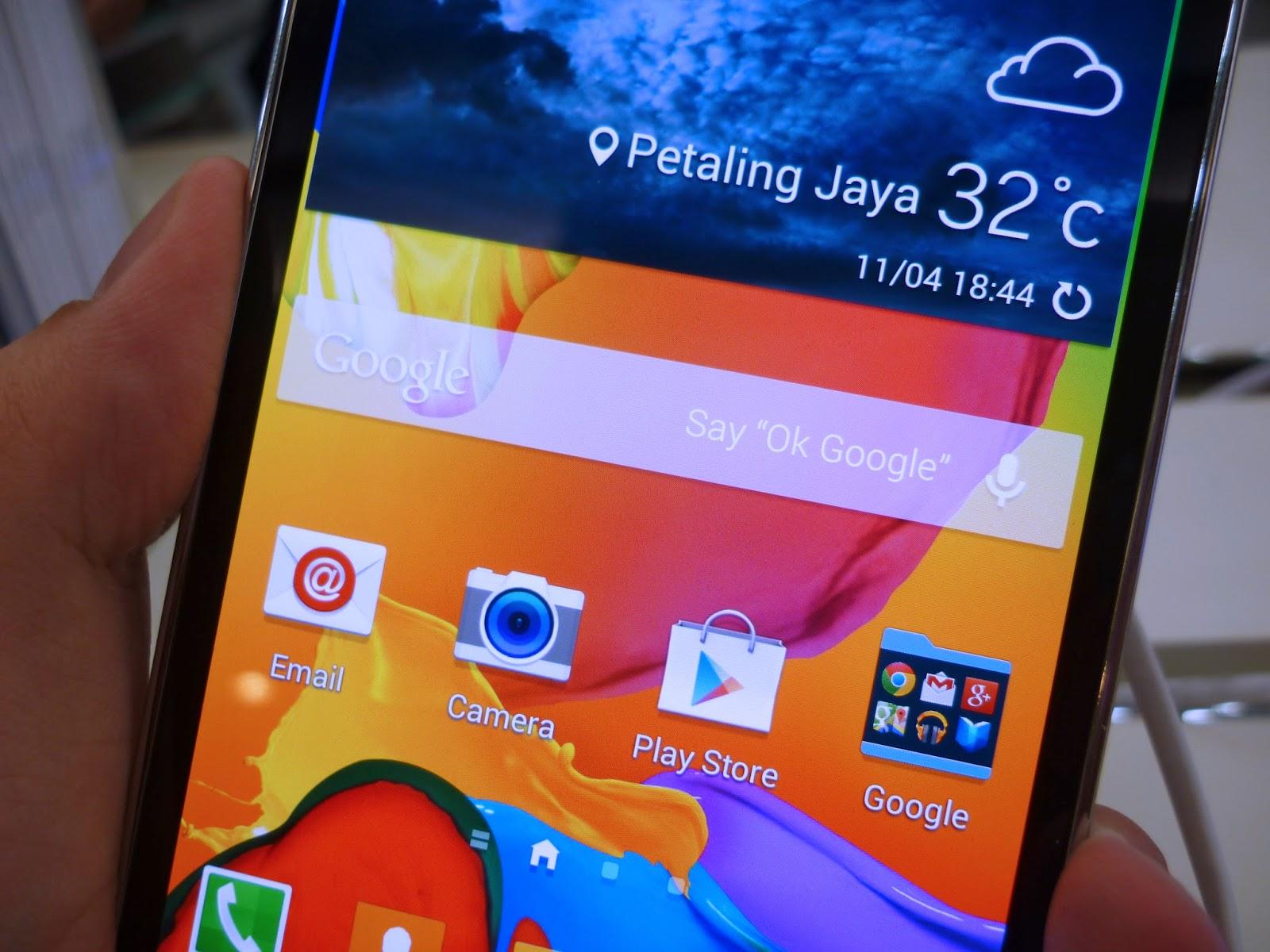 Samsung Galaxy S5 Maxis