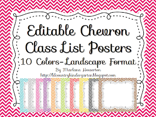 http://www.teacherspayteachers.com/Product/Editable-Chevron-Class-List-Posters-and-More-Landscape-Version-1011951