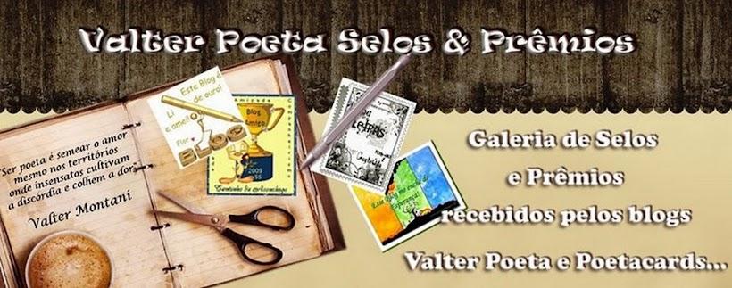 Valter Poeta Selos & Prêmios