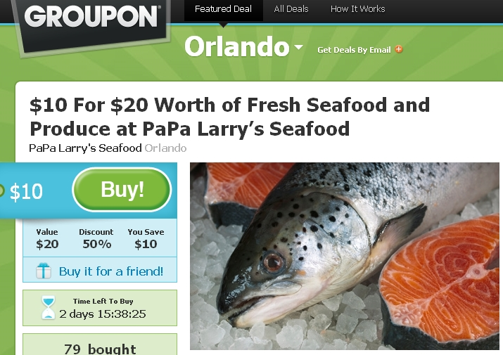 Papa larry 39 s seafood may 2011 for Lawrence s fish and shrimp