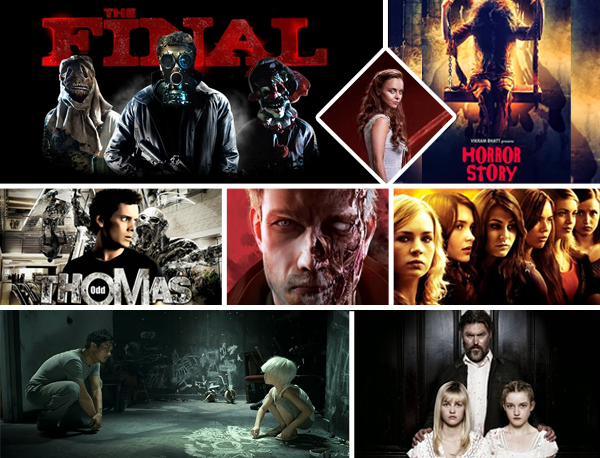 #FilmesDaSemana: Horror Story, Odd Thomas,The Final, Lizzen Borden, Triple Dog, We Are What We Are, Rigor Mortis e The Returned
