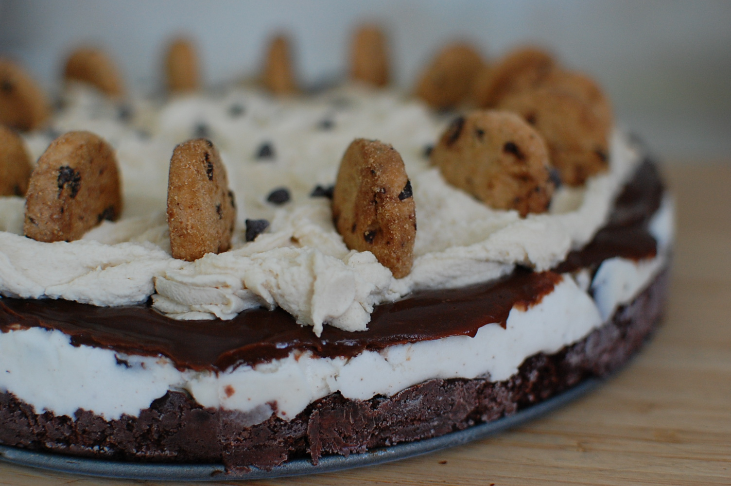 Food, Fun & Life: Cookie Dough Ice Cream Cake