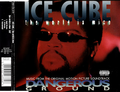 Ice Cube Feat. Mack 10 & K-Dee  - The World Is Mine (Dangerous Ground)-(UK_CDS)-1997