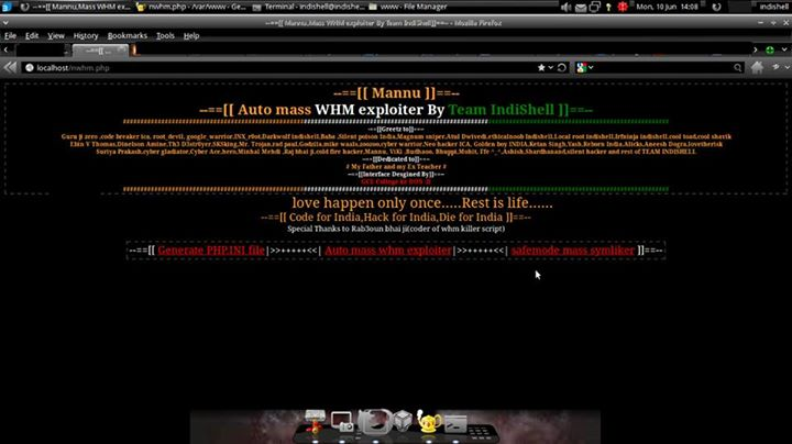 Download Mannu Auto Mass WHM Exploiter