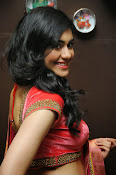 Adah Sharma Gorgeous in Pink Saree-thumbnail-20