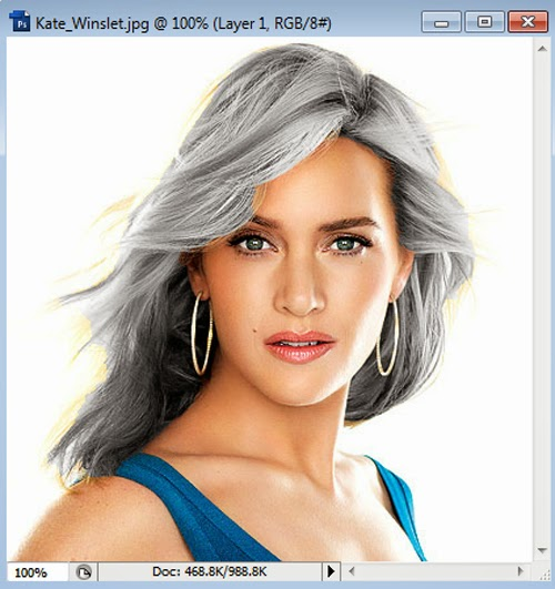Hair Coloring Quickly And Easily In Photoshop